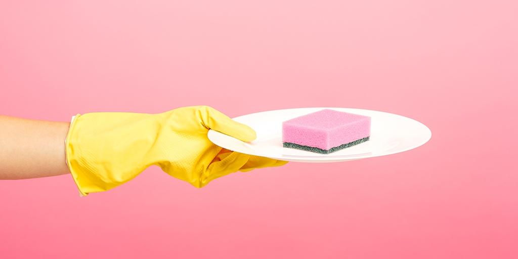 помыть микроволновку бытовая химия
