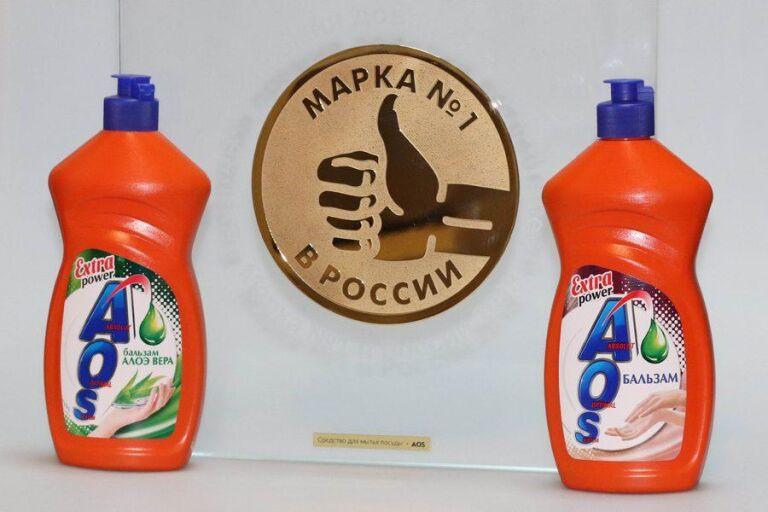AOS - бренд номер 1 в России